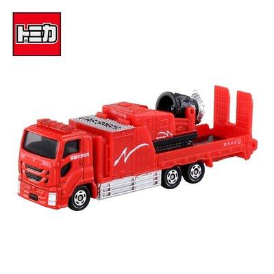 TOMICA NO.128 那霸市消防車 玩具車 長盒 多美小汽車 日本正版【981787】
