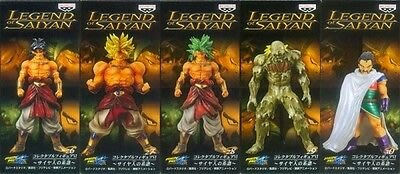 龍珠 Legend of Saiyan 博羅連 布洛尼 Broly 5種 HG SHF mini big head WCF 一番