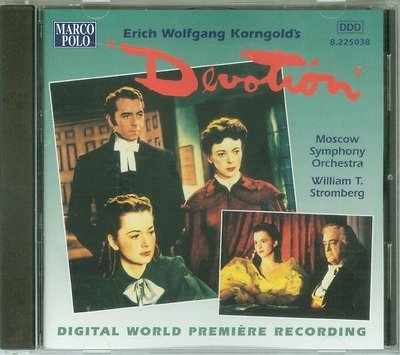 "[原聲帶]-""Devotion""- Erich Korngold,加拿大版"