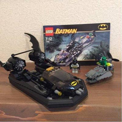 LEGO樂高 7780蝙蝠船/蝙蝠俠大戰鱷魚人 Batboat: Hunt for Killer Croc Batman