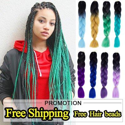 SUNNY雜貨-xpression twist Braids hair ombre braid jumbo expression臟辮#假髮#臟辮
