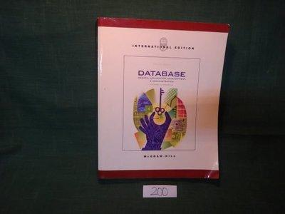 【愛悅二手書坊 07-42】Database Design, Application Development, and Administration