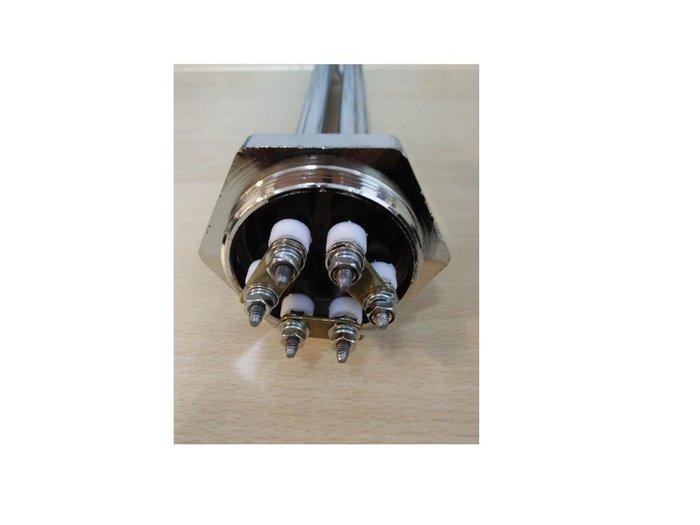 白鐵電熱管AC220V 1200W  電源端3線