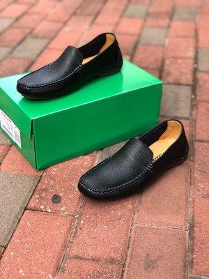 Clarks克拉克男士豆豆鞋真皮休闲鞋乐福鞋懒人鞋黑色39-44
