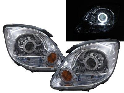 三菱 Mitsubishi 福利卡 Freeca 2004-2008 光圈 魚眼 大燈 頭燈