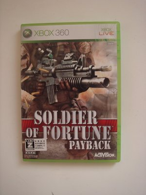 XBOX360 傭兵戰場 soldier of fortune Payback