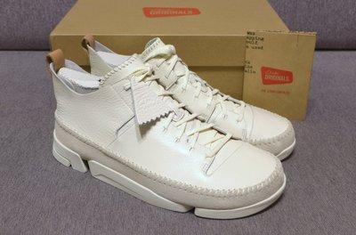 【jeanstar代購】Clarks Trigenic Flex White 創新運動鞋 白色 英國熱賣款