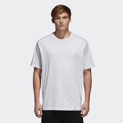 愛迪達 ADIDAS Original 三葉草 BQ3054 白色t-shirt XBYO短袖T恤 素tee 台灣專櫃購入