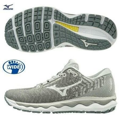 美津濃 mix up WAVE RIDER WAVEKNIT 3 寬楦 女款 慢跑鞋 J1GD198401 $4580 尺寸:23~26