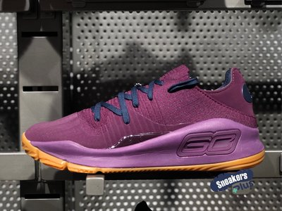 ➕sneakersplus➕ 7折 Under Armour UA Curry 4 低筒 籃球鞋 紫 3000083-500