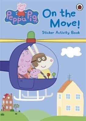*小P書樂園* Peppa Pig: On the Move! Sticker Activity Book [貼紙書]