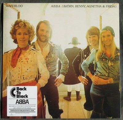 全新歐版黑膠- 阿巴合唱團 / 滑鐵盧(180克重量版)ABBA / Waterloo