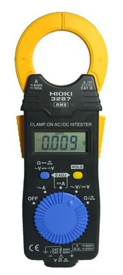 [捷克科技] 日本 HIOKI 3287交流多功能鉤錶 TRUE-RMS 鉤部開口 33mm