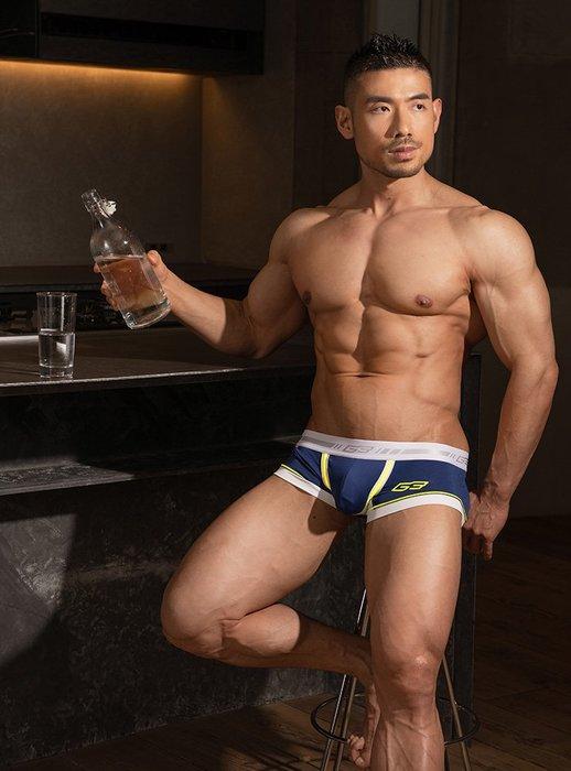 GX3日本設計.【K1200】【M.L.XL 號】DRY NEON 系列 U凸囊袋 平角男士內褲.Jn男潮內著