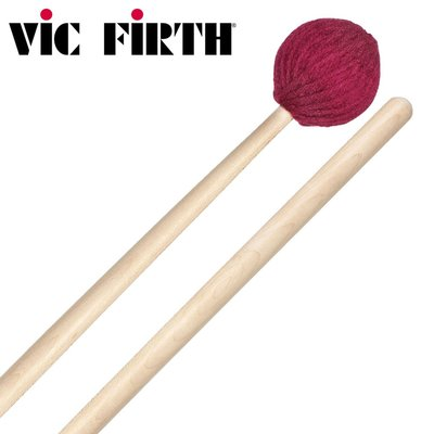 【小叮噹的店】全新 美國 Vic Firth BCS1 棉槌 專用吊鈸 楓木柄 公司貨 附發票 鼓棒