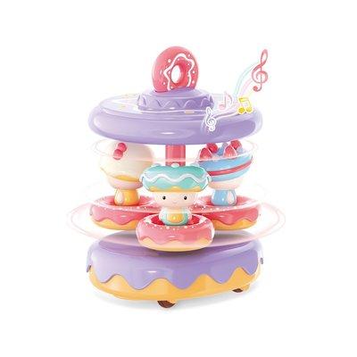 ☆天才老爸☆→【智博】Mini Candy 糖果計劃系列 - 甜甜圈花車 糖果計劃 糖果計劃 扮家家酒 角色扮演 廚房組