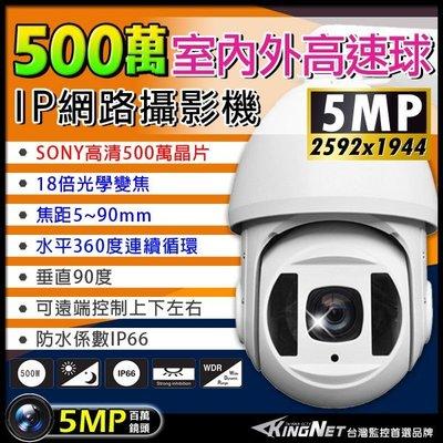 360度 五百萬像數 IP網路快速球 攝影機 高速球 攝影機 SONY晶片 攝像頭 監視器 18倍光學變焦
