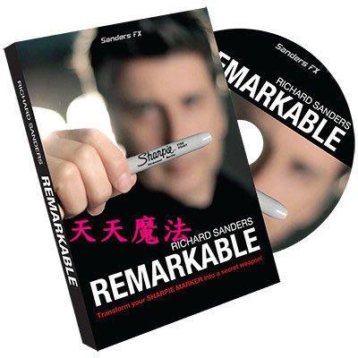 【天天魔法】【1253】筆顯奇蹟(Remarkable)(道具+教學)(Richard Sanders作品)