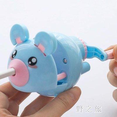 卷筆器  卷筆刀轉筆刀削筆器手搖多功能鉛筆刀韓版創意可愛學習用品  KB10128