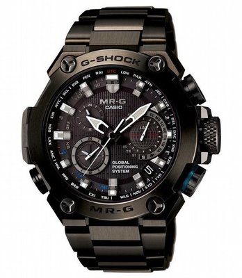 【最頂級G-SHOCK 】 CASIO MRG-G1000衛星GPS電波錶,MR-G等級高於MT-G/Oceanus *