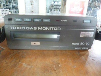 RIKEN KEIKI TOXIC GAS monitor 氣體偵測器