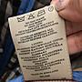 英國製 BURBERRY 藍色經典菱格紋鋪棉外套