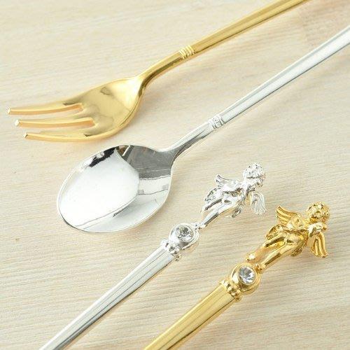 現貨 ◎日本直送◎ 日本製 小天使 茶匙/湯匙/點心匙/咖啡匙/蛋糕匙