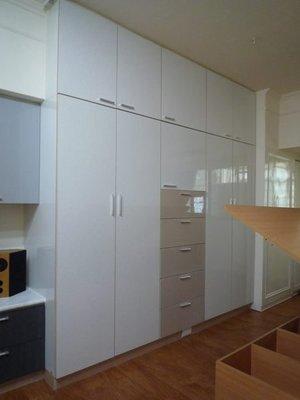 實用衣櫥 (衣櫃) (木芯板+美耐門板-耐用度高!) -高雄 屏東 廚具工廠