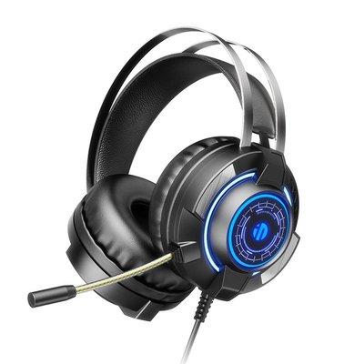 頭戴式耳機英菲克G2耳機頭戴式電腦有線電競臺式筆記本帶麥話筒2合一網吧usb接口雙插頭吃雞7.1聲道聽聲辨位游戲耳麥