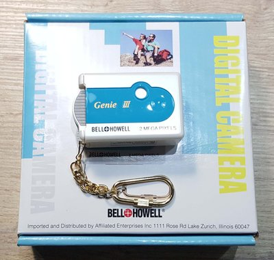 BELL+HOWELL BH-CDC 148 GENIE III Lomography 絕版品 全新 (免運費)