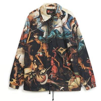 全新商品 SUPREME UNDERCOVER 16FW COACHES JACKET 聯名 夾克 油畫 教練 外套