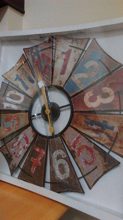 美式鄉村歐式法式複古風格創意客廳臥室大尺寸精品掛鐘掛表(3款可選)