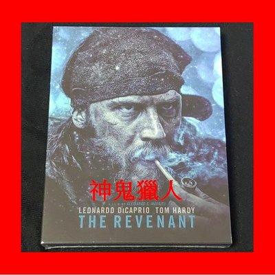 【BD藍光】神鬼獵人:全紙盒幻彩限量鐵盒版(B款)The Revenant鐵達尼號 瘋狂麥斯 主角 鳥人導演