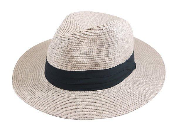 金城武同款通用型限定帽子/ 流行(黑色3折帶4cm)寬邊(7cm)加大帽沿軟藤紳士帽-3色