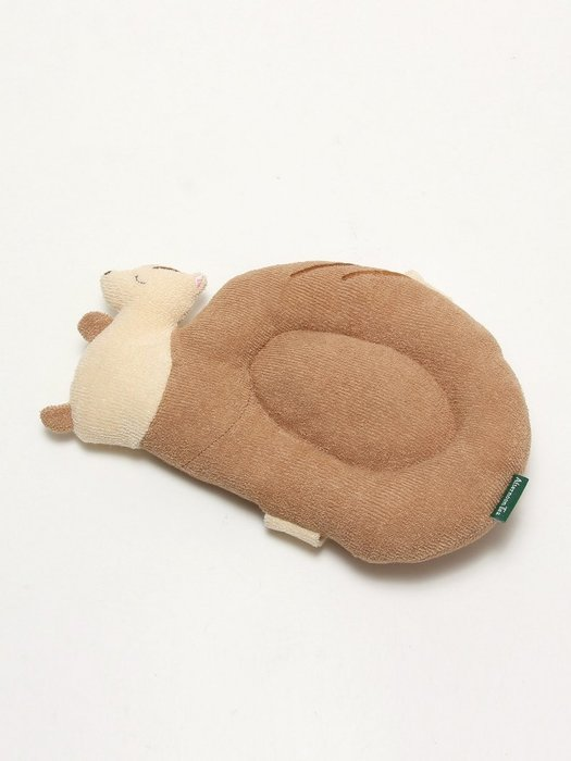 Ariel Wish日本Afternoon Tea限量可愛松鼠嬰兒枕頭餵奶哺乳頭托枕100%純棉彌月禮--日本製-絕版品