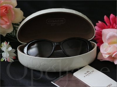 全新真品 COACH Sunglasses 鏡架玳瑁紋路流行防曬UV防紫外線太陽眼鏡 墨鏡附禮盒眼鏡布 愛Coach包包