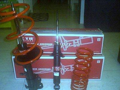 【童夢國際】KYB黑筒避震器 NISSAN SENTRA M1 180 331 341 N16 MARCH K11