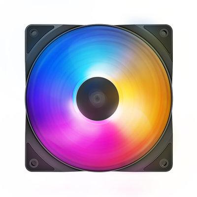 散熱器九州風神(DEEPCOOL)RF120 FS 魔刃三色  機箱風扇(PWM風扇/自動流光/冷排風扇/高效/靜音)