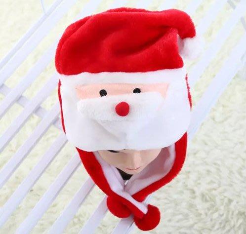 【洋洋小品Q版可愛動物帽聖誕老公公帽頭套】兒童大人成人造型帽桃園萬聖節聖誕節尾牙春酒變裝角色扮演服裝全省齊全國舞蹈戲劇動