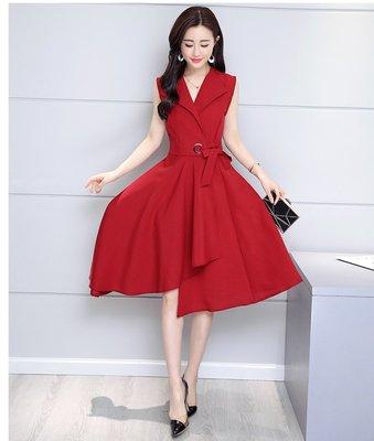 日韓服飾*免運費商品*綁帶時尚洋裝* ...