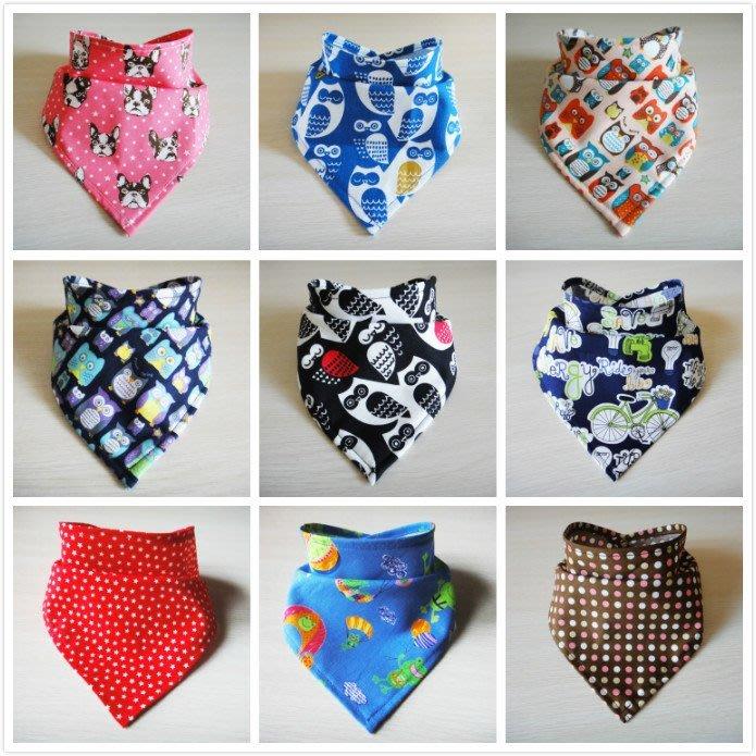 *樂芙領巾/手作* 手工領巾下標區 (單層布-台灣布) 嬰兒/兒童三角巾、口水巾、圍兜,