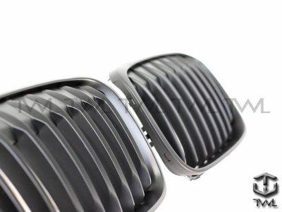《※台灣之光※》全新BMW X1 F48 15 16 17 18 19年全黑 消光黑 水箱罩  鼻頭組 25d 18i