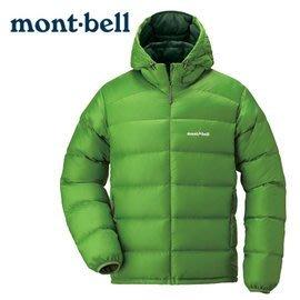丹大戶外 日本【mont-bell】LT Alpine 男款連帽羽絨外套 1101430CTS 仙人掌綠