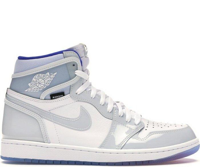 Nike Jordan 1 OG High 喬丹 AJ1 一代 1代 喬1 Zoom White Racer Blue 漆皮 透明 男鞋 各尺寸