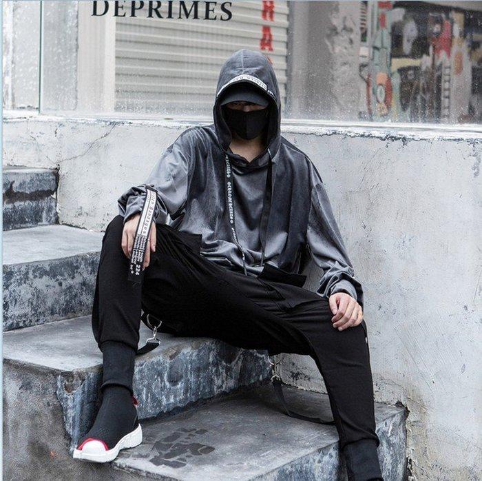 ☆~崇尚潮男瘋~☆【A02-CT643 韓版街頭嘻哈原宿獨特風格個性休閒連帽長袖T恤】