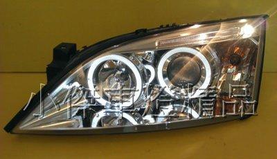 ☆小傑車燈精品☆全新超炫版FORD MONDEO METROSTAR 02 03 04年RS 2.5 晶鑽光圈魚眼大燈.