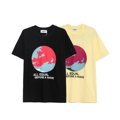 【POP】AMBUSH 19SS ALL EQUAL T-SHIRT 太極 地球logo  男女短袖T恤
