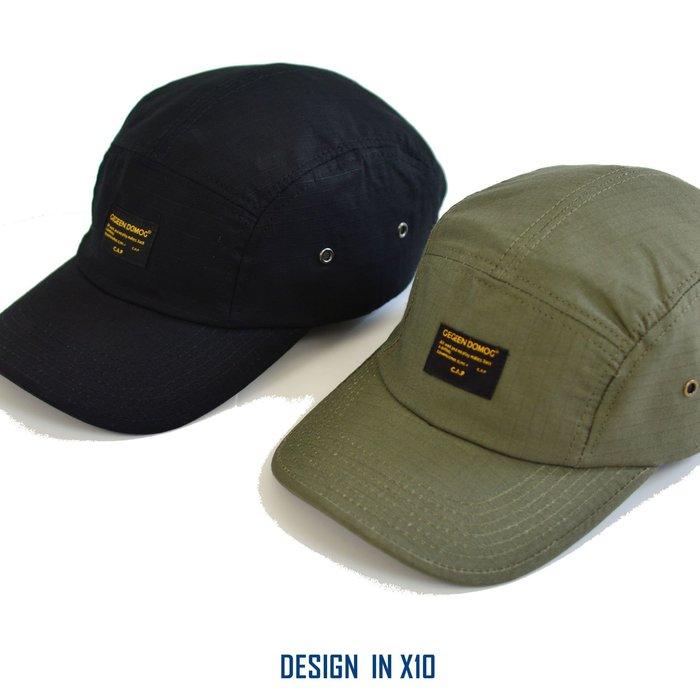 --- X10 --- 2019  軍風  抗撕裂 SNAPBACK CAP  微防潑水  軍帽  彎檐  五分割帽
