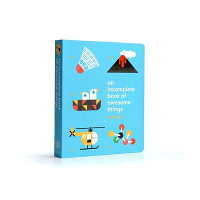 【Ace書店】An Incomplete Book Of Awesome Things 兒童英語硬頁書 / 台灣公司貨