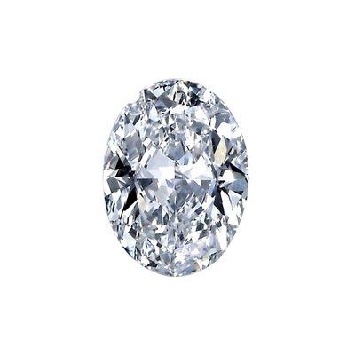 GIA 0.50克拉 F VS1 Oval Cut Diamond (50分橢圓型切刻鑽石價格)